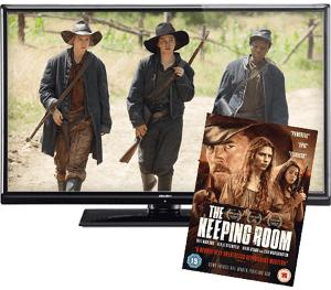 Win a 40-inch combi TV/DVD player plus a The Keeping Room DVD!