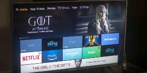 "Win a 43"" Amazon Fire TV Edition Element 4K LED TV"
