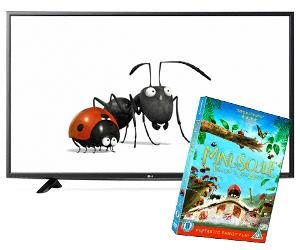 Win a 49in Freeview Smart TV, plus Minuscule: Valley Of The Lost Ants on DVD!
