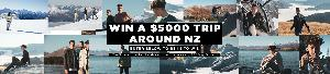 WIN A $5,000 TRIP AROUND NZ