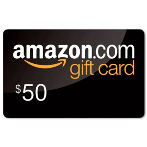 Win a $50 Amazon Card