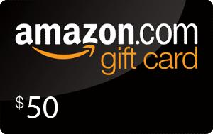 Win a $50 Amazon Gift Card""