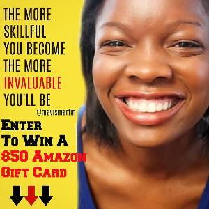 Win a $50 amazon Gift Card