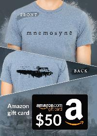 Win a $50 Amazon Gift Card and a Graphic T
