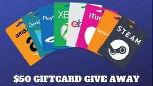 Win a $50 Digital Gift Card of Your Choice