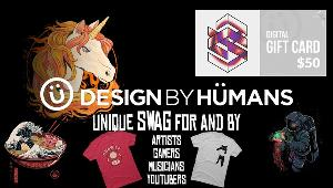 Win a $50 Gift Card to Design By Humans!!