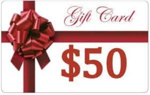 Win a $50 Gift Card Your choice of Amazon, Apple, Barnes & Noble, Google Play, or Kobo!