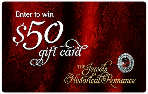 Win a $50 gift certificate to the ebook retailer of your choice (B&N, iBooks, Kobo, Amazon, or Google Play)!