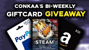 Win a  $50 Giftcard of your choosing!