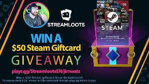 Win a $50 Steam Giftcard