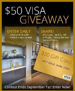 Win a $50 Visa from Kargar Homes