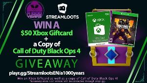 Win a $50 XBox Giftcard + a copy of Call of Duty Black Ops4