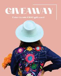 Win a $500 Agave Girl Shopping Spree