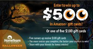 Win a $500 Amazon Gift Card or 1 of 5 $100 Amazon Gift Cards