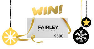 Win a $500 Gift Card from FAIRLEY Jewellery!