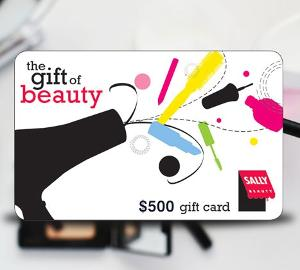 Win a $500 Sally Beauty Gift Card!