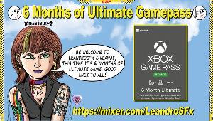 Win a 6 Month Ultimate Gamepass!!