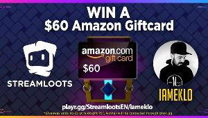 Win a $60 Amazon Giftcard!