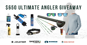 Win a $650 boatload of products from brands within the fishing space!
