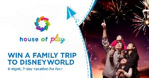 Win a 7 Day Trip to Disney World