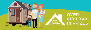Win a $70,000 Tiny House and baby gear from Safety1st