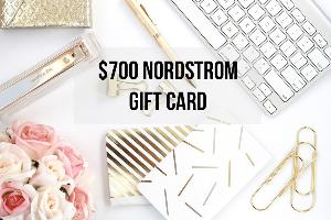 Win a $700 Nordstrom Gift Card
