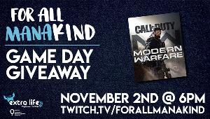 Win a A sealed physical copy of Call of Duty Modern Warfare for Xbox One, from the Dark Edition, collector's edition!!