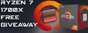 Win a AMD Ryzen R7 1700X CPU