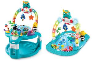 WIN: a Baby Einstein 2-in-1 Lights & Sea Activity Gym & Saucer""