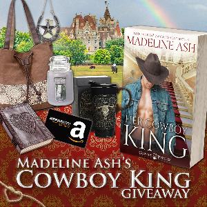 Win a bag , a candle, a leather journal, a travel mug and an Amazon Gift Card!