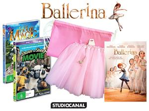 Win a Ballerina Merchandise Pack & Movie Tickets!!!  (Australia Residents Only)