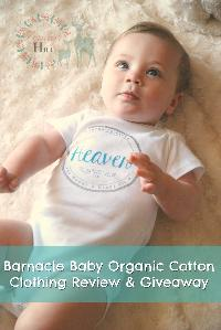 Win a Barnacle Baby Organic Cotton Bodysuit
