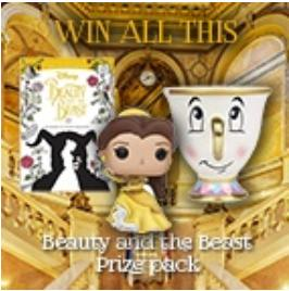 Win a Beauty and the Beast prize pack