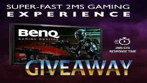 Win a BenQ 27 inch 1080p Gaming Monitor !