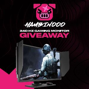 Win a BenQ ZOWIE 240Hz Gaming Monitor!!