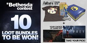 Win a Bethesda Loot Bundle and new AAA game!
