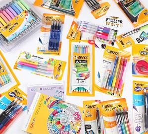 WIN A BIC BACK-TO-SCHOOL PRIZE PACKAGE!!