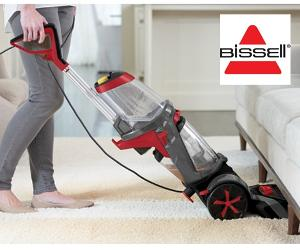 Win a BISSELL Revolution carpet cleaner & goodies!