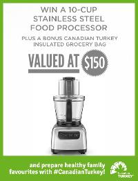 Win a Black and Decker stainless steel food processor ""