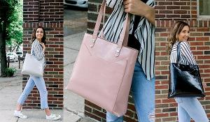 Win a Blush, Fog or Raven Cat Pocket Tote.