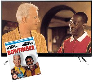 "Win a Bowfinger Blu-ray and 32"" Samsung HD TV!"