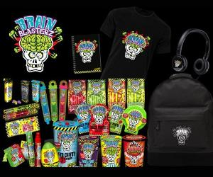 Win A Brain Blasterz Goodie Bag Worth £40 This Halloween!