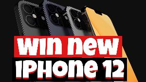 WIN A BRAND NEW IPHONE 12 FOR FREE