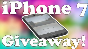 WIN: a brand new iPhone 7!