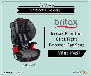 contest win a britax frontier clicktight booster car seat 329. Black Bedroom Furniture Sets. Home Design Ideas