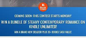 WIN A BUNDLE OF STEAMY CONTEMPORARY ROMANCE ON KINDLE UNLIMITED! WIN A BRAND NEW EREADER! PLUS 35+ BOOKS! $450 VALUE!