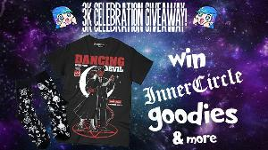 Win a bundle of the brand new 'Dancing with the Devil' t-shirt, a pair of 'Dead Lucky' socks and a Ouija soap set! plus more...