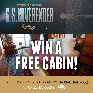 Win a Cabin on Coheed and Cambria's S.S. Neverender Cruise!