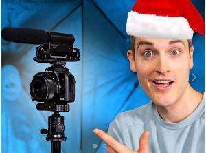 Win a camera, lighting, microphones, tripod, and SD card!