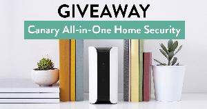 Win a Canary All-in-One Home Security System